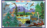 Mountain Animals - Activity Placemat by Tot Talk