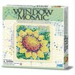 Window Mosaic Art Sunflower 4M Art / Craft Kit