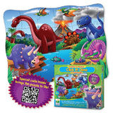 Puzzles In Motion-Click It! Dino -24 Piece Jigsaw Floor Puzzle
