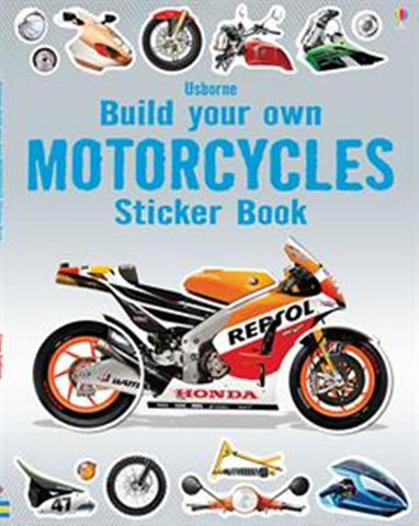 Usborne - Build Your Own Motorcycles Sticker Book