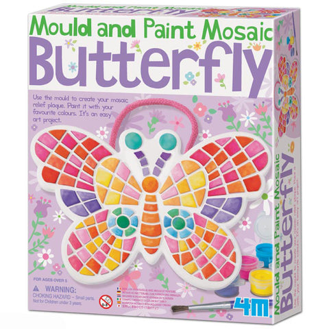 Mould and Paint Mosaic Butterfly by 4M