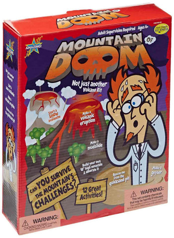 Be Amazing! Mountain of Doom Volcano Science Experiment Kit