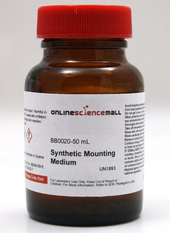Piccolyte Synthetic Mounting Media, 50mL - Balsam Canada in Xylene