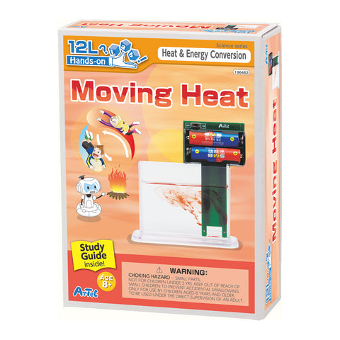 Moving Heat Experiment Kit and Study Guide By Artec
