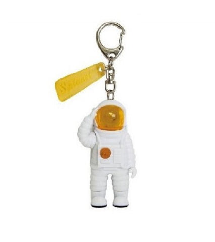 Mr. Yupychil Key Light - Astronaut Shaped Key Chain with LED Light - Yellow
