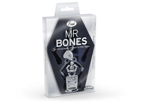 Mr. Bones Skeleton Silicone Ice Cube Tray Mold