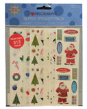 Mrs. Grossman's Stickers Super Pack Christmas - Styles Vary