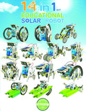 14-in-1 Educational Solar Robot Kit, by OWI