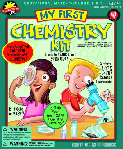 Education My First Science Chemistry Activity Kit Scientific Explorer