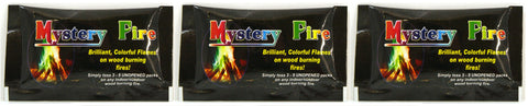 Mystery Fire Colorful Flames - Pack of 3