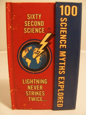 Sixty Second Science: 100 Myths Explored Book by Lagoon