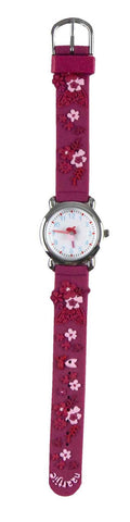 Naartjie Dance Floral Watch Fuchsia Band