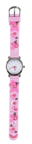 Naartjie Dance Floral Watch Pink Band