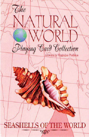 SEASHELLS of the Natural World Art Deck of Playing Cards