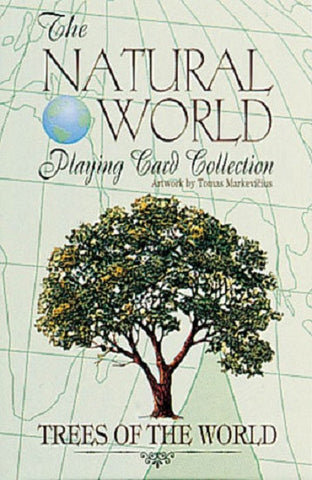 TREES of the Natural World Art  Deck of Playing Cards