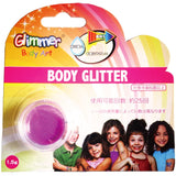 Glimmer Body Art - Neon Purple Body Glitter