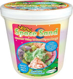 5 Lb Bucket Space Sand Five NEON Color Assortment
