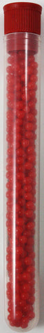 Red Rainbow Beads Growing Polymer Gel Balls-12 Grams