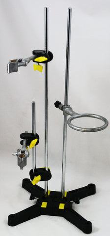 Multi-Purpose Modular Support Stand w/Clamps & Support Ring