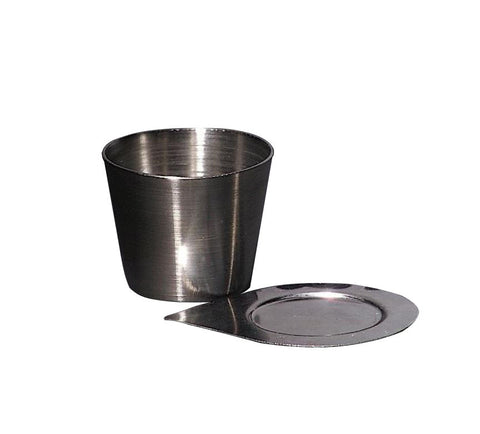 15ml Stainless Steel Crucible with Lid - Online Science Mall