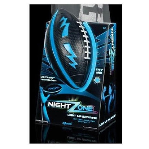 NightZone Light Up Football - Blue