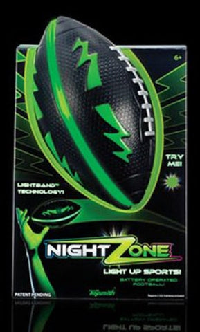 NightZone Light Up Football - Green