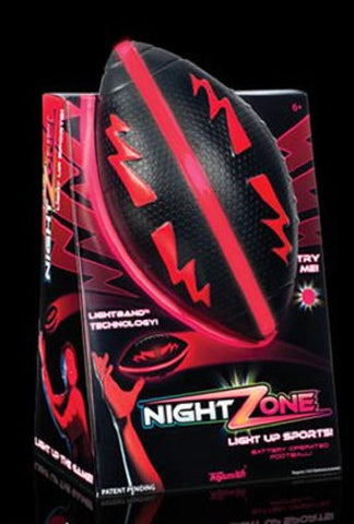 NightZone Light Up Football - Red