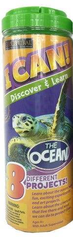 I Can Discover & Learn Kit The Ocean  w 8 Projects
