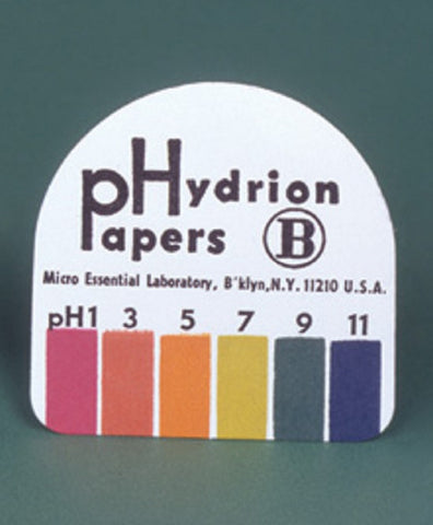 Hydrion B PH Paper odd PH range 1-3-5-7-9-11