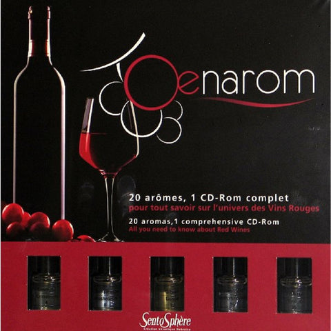 Oenarom Red Wine Appreciation Interactive Kit by SentoSphere