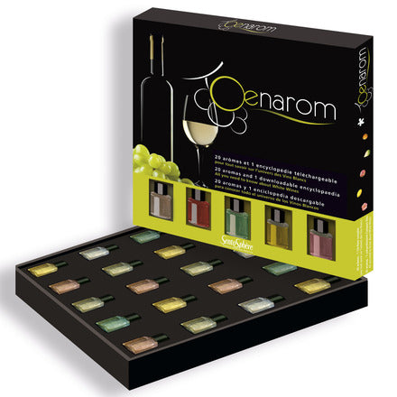 Oenarom White Wine Appreciation Interactive Kit by SentoSphere