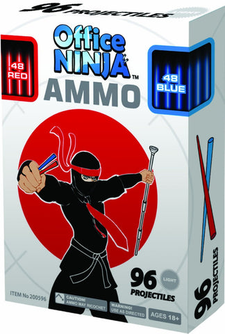 Office Ninja Ammo 96 Projectiles for Blowgun