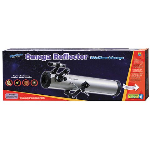 Geo Vision Omega Reflector Telescope; 300 x 76 mm