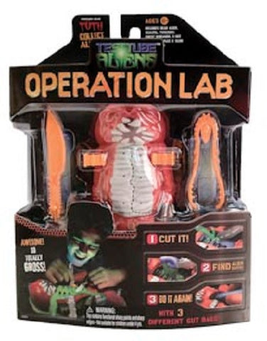 Test Tube Alien: Operation Lab - RED TUTH Specimen Toy