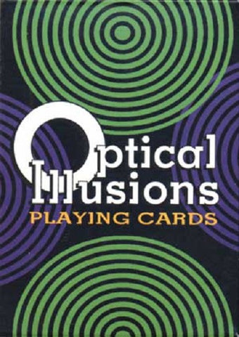 Optical Illusions Playing Cards-55 Different Optic Tricks