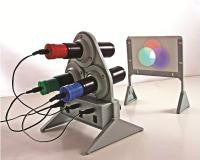 Optical Color Mixing Apparatus w/ Three LED Colors