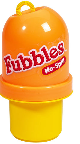 Fubbles No-Spill Bubble Tumbler Orange and Yellow By Little Kids