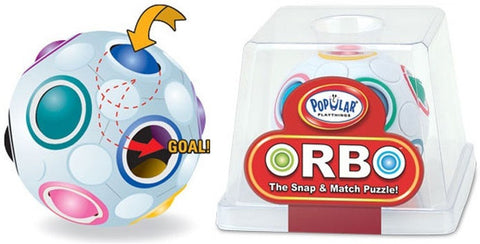 Popular Playthings- ORBO- Snap & Match Puzzle Ball
