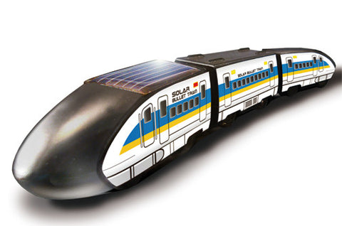 Robotikits Bullet Train Solar Energy Kit - Build Solar Powered Train