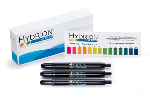 Hydrion Insta-Check 0-13 Mechanical pH Pencil, Pack of 3