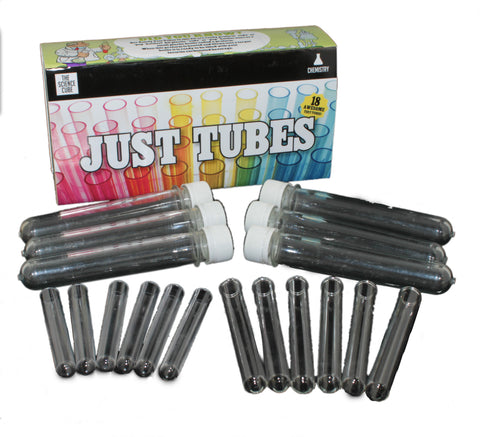 The Science Cube: Just Tubes - Glass and Plastic Test Tubes