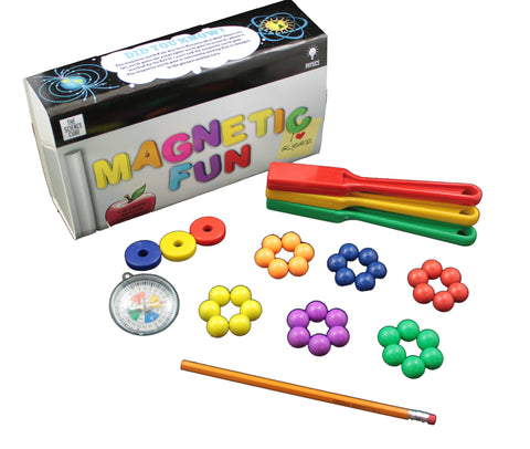 The Science Cube: Magnet Fun Physics Experiment Kit
