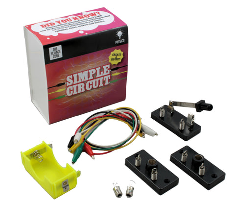 The Science Cube: Simple Circuits Experiment Kit