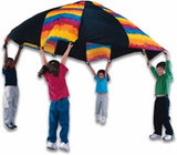 Fun Gripper Tie Dye 10 Foot Parachute - Group Activity