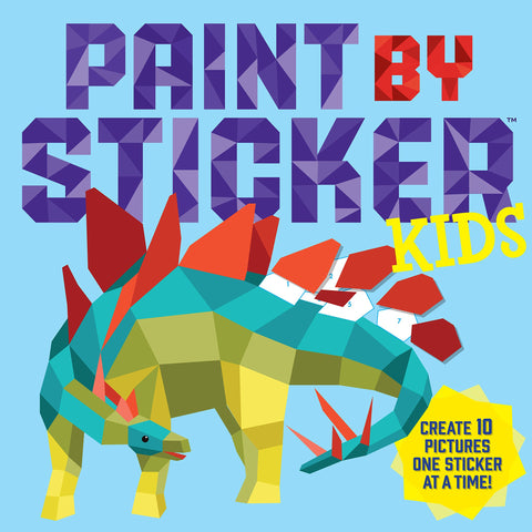 Paint by Sticker Kids Create 10 Pictures One Sticker at a Time! Art Activity Book