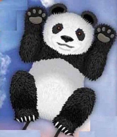 WindnSun SkyZoo Panda Nylon Kite - 40 Inches Tall