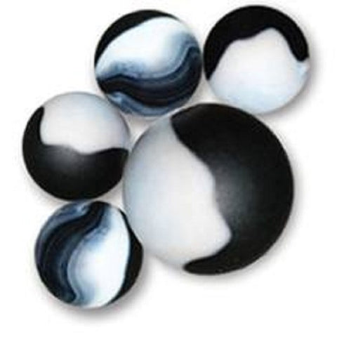 Panda Game Net Set 25 Piece Glass Mega Marbles