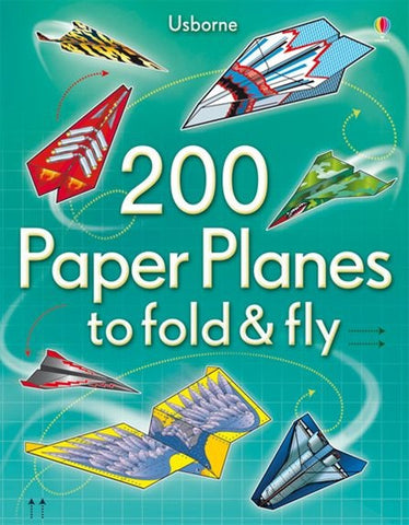 Usborne 200 Paper Planes to Fold & Fly - Airplane Activity Book