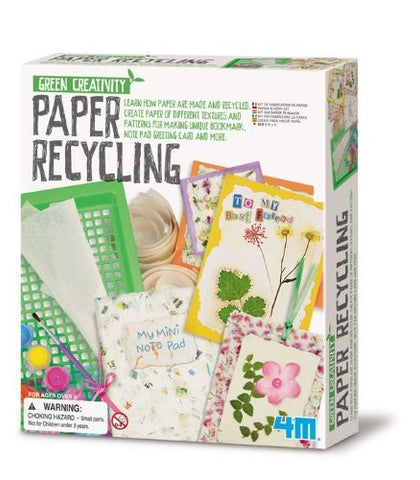 4M Paper Recycling  Kit: Green Creativity