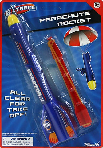 Extreme Parachute Rocket From Toysmith